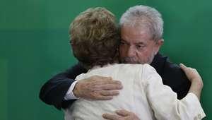 """Nomeação de Lula como """"superministro"""" de Dilma faz 1 ano"""