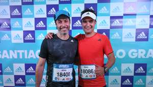 Maratón de Santiago: ¿Cómo le fue a algunos famosos?