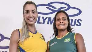 Uniformes do vôlei brasileiro para Rio 2016 são apresentados