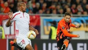 Marlos brilha, mas Shakhtar só empata em casa com o Sevilla