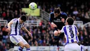 Gareth Bale conduce al Real Madrid a la victoria en Anoeta