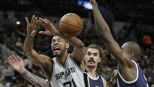 Spurs ganan a Thunder en el primer duelo de segunda ronda