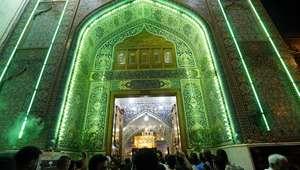 Miles de peregrinos chiíes se reúnen en santuario en Bagdad