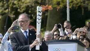 Antorcha olímpica llega a Brasil