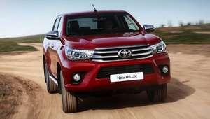 Recall: Toyota Hilux tem problema no airbag