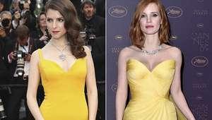 Duelo de estilo en Cannes: Anna Kendrick vs Jessica Chastain