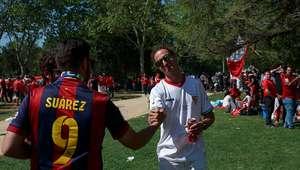 Galería: Ambiente previo en la final de Copa del Rey ...