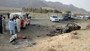Drone dos EUA mata líder talibã Akhtar Mohammad Mansur