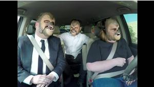 Vídeo: Corden y J.J. Abrams suben al coche de 'mujer ...