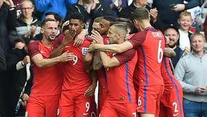 Rashford marca na estreia, e Inglaterra bate a Austrália