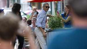 Barack y Michelle Obama cenan en restaurante mexicano