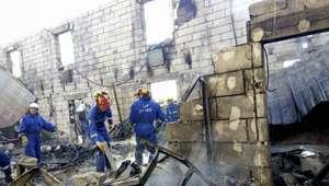 Ucrania: Incendio mata a 17 en hogar de ancianos