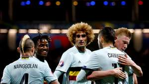 Bélgica golea a Hungría y avanza a la siguiente ronda