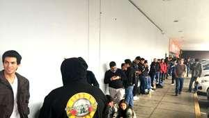 Locura por las entradas para ver a Guns N' Roses en Lima