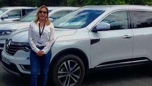 Rodando com o novo Renault Koleos em Paris