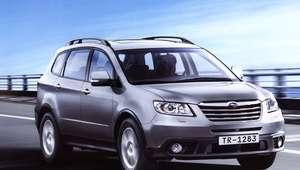 Subaru faz recall de três modelos por falha em airbag