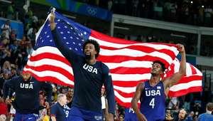 EUA atropelam a Sérvia e são campeões no basquete masculino