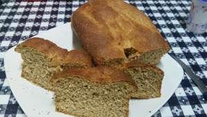 Pão caseiro integral prático e delicioso