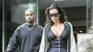 Kim Kardashian pasea sin sostén en Nueva York