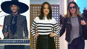 Looks listrados em alta! Veja as famosas que aderiram à moda