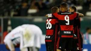 """Sheik """"reaparece"""" e põe Flamengo em vantagem contra chilenos"""