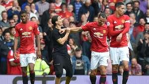 Galería: Ibrahimovic conoció a su doble en el United - ...