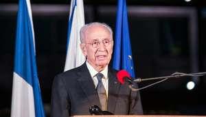 Estado de saúde de Shimon Peres é muito grave