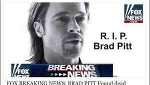Cuidado con la estafa de Facebook: 'Ha muerto Brad Pitt'