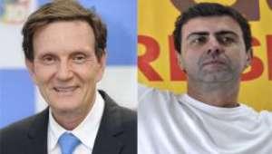 RJ: Crivella e Freixo falam de saúde e transporte em debate