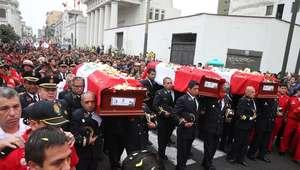 Declaran mártires a bomberos fallecidos en incendio de ...