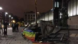 Retiran estatua decapitada de Franco tras terminar ...