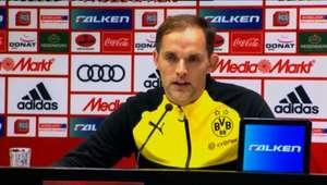 """Tuchel: """"Não jogamos um futebol de Bundesliga"""""""