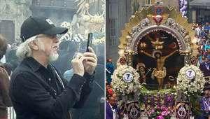 Guitarrista de Aerosmith asistió a procesión del Señor ...