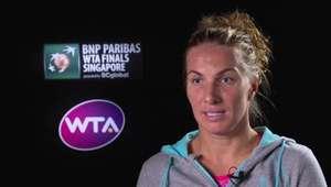WTA Finals: Kuznetzova e Pliskova comentam seu confronto