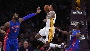 Harris anota agonizando el partido y Pistons ganan a Lakers