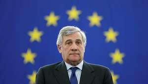 Italiano Tajani é eleito presidente do Parlamento Europeu