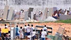 Presos entram em confronto no presídio de Alcaçuz, no RN