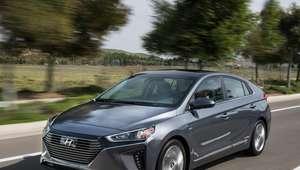 Ioniq híbrido y eléctrico de Hyundai llegan a Estados Unidos