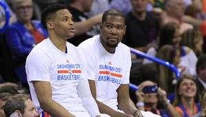 Westbrook y Durant evitan polémica previo al Juego de ...