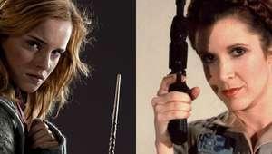 Emma Watson compara Hermione com Princesa Leia