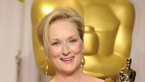 Polémica en los Oscar por el vestido de Meryl Streep