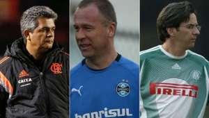 Você sabe quem era o técnico do seu time há dez anos?