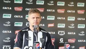 """Marlone chega ao Atlético e quer jogar clássico: """"uma final"""""""