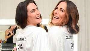 Cleo e Gloria Pires mostram semelhança em clique