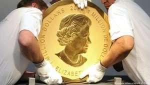 Moeda de 100 kg avaliada em US$ 1 mi é roubada em Berlim