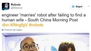 Un ingeniero se casa con una mujer-robot construida por ...