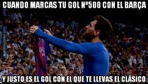 Los mejores memes del Clásico: Real Madrid vs Barcelona