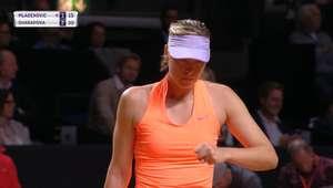 WTA Stuttgart: Mladenovic x Sharapova