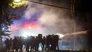 Termina em confronto o protesto perto da casa de Temer em SP
