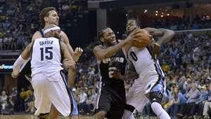 Spurs eliminan a Grizzlies y ya piensan en Rockets